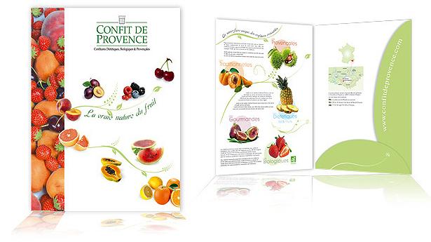 Hervorragend créations de plaquette commerciale : KD Graphiste Designer à Aix  AW78